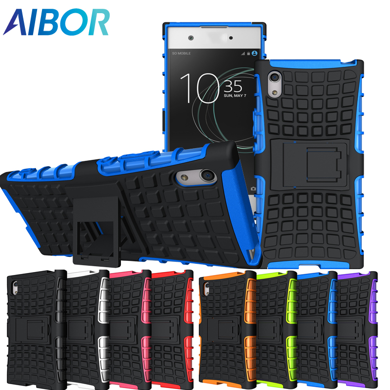 AIBOR 3D Heavy Duty Armor Slim Rugged Case Cover For Sony Xperia Z2 L50 Z3 Z4 Z5 M4 M5 Compact E4 Z3 Compact Z5 Premium Cover