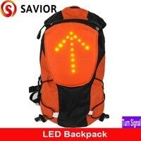 Salvador M 02/senderismo/ciclismo & Camping mochila bolsa con seguridad luz indicadora de LED Control remoto al aire libre de señal bag bag dust bag military -