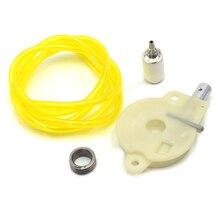 Oil Pump Worm Gear Fuel Filter Hose Line Kit For HUSQVARNA 36 41 136 137 141