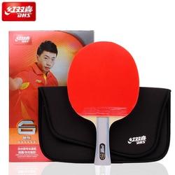 DHS tafeltennis rackets 6-ster met orkaan 8 en tinarc rubber 6002/6006 voeg bag set ping pong bat tenis de mesa