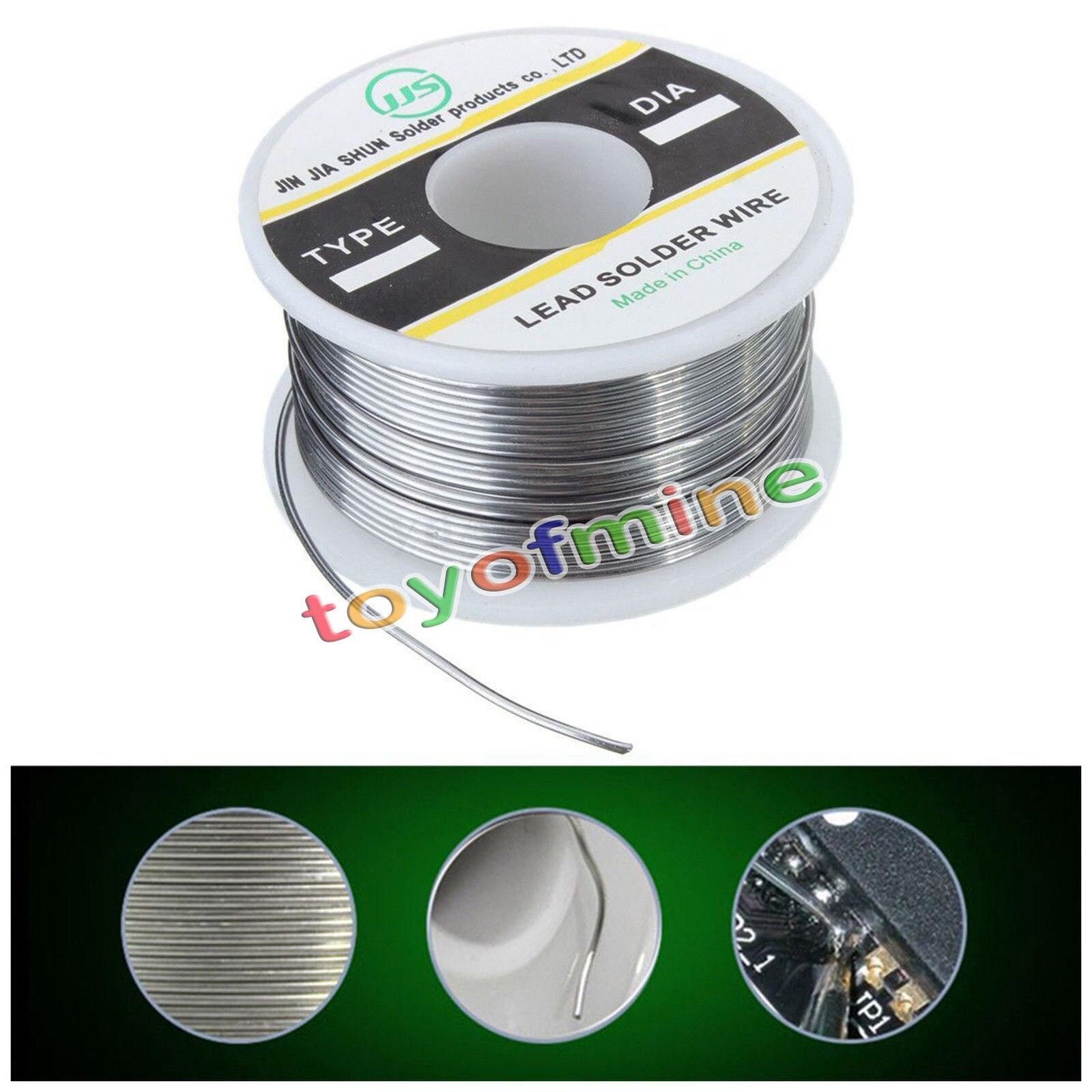 100g 1mm 60/40 Flux Reel/Tube Tin Lead Rosin Core Solder Soldering ...