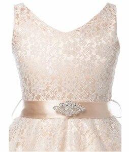 Image 4 - Cailini vestido de princesa para meninas, vestidos de princesa de renda para crianças, aniversário, casamento, festa, branco, preto, dança, 3 14 anos