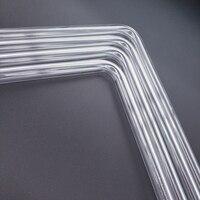 90 Barrow PMMA / PETG Hard Tube ( OD12mm / OD14mm / OD16mm ) + 2mm Thickness + 90 Degrees Bending Tube Transparent 4pcs/Lots (4)