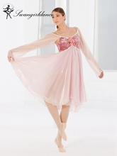Volwassen Ballet Dans Kostuum Ballerina Dance Jurk Lyrical & Hedendaagse Dans Kostuum Meisje Ballet Jurk BL0056