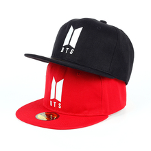 Bangtan7 Plain Red or Black Cap
