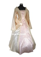 Pink Princess Style Ladies Deluxe Quality Medieval Renaissance Costume/Cosplay Dress/Victorian Dress/Stage Costume