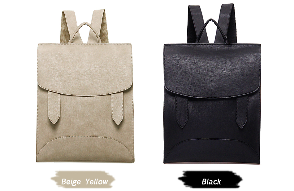 High Quality Women Backpack Leather Bags New Arrival 17 Backpacks For Teenage Girls Fashion Bag Woman Back Pack Bolsa Mochila 5
