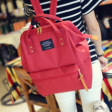 2017 Korean New Stylish Canvas School Backpack Women kanken Girl Laptop SchoolBags Casual Mochila feminina escolar