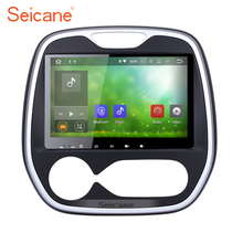 Seicane GPS Navi Radio Android 7.1 for 2011-2016 Renault Captur CLIO Samsung QM3 Auto A/C with 4G WiFi OBD2 AUX Backup Camera