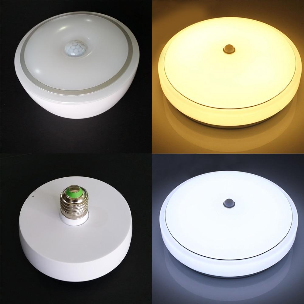 12W PIR Infrared Motion Sensor Ceiling light Super Bright Ceiling Lamp Household Office Factory Flush Mounted LED Ceiling Light