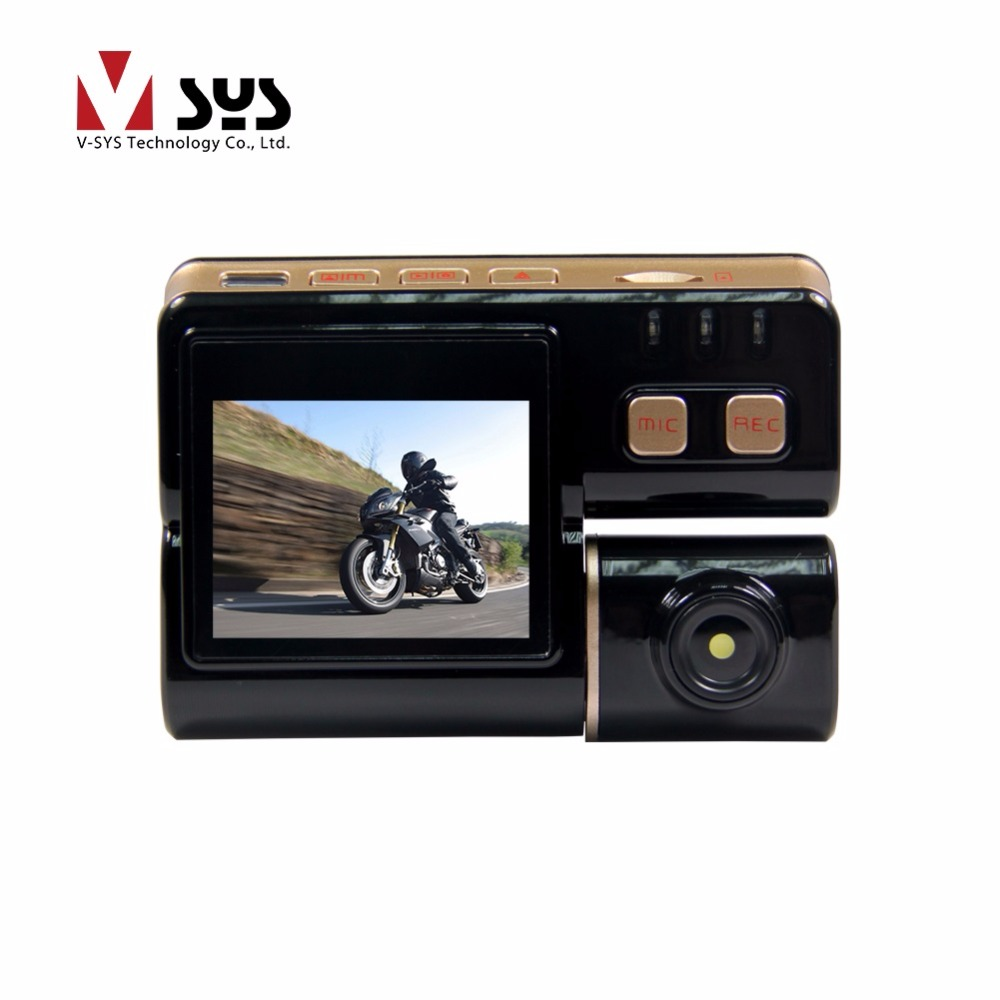 Vsys C3 motorbike video camera with 2.0 inches screen HD D1 VGA solution