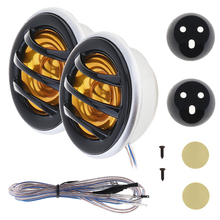 2pcs 150W 066 Car Auto Horn Dome Tweeter Audio Loudspeaker Stereo Treble Speaker for Cars Vehicle