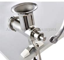 Stainless Steel Wheat Grass Juicer Hand Operated Fruit Juice Squeezer Wheatgrass Juicing