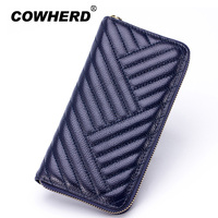 MIUMOFOX Brand 4 Colors Real Genuine Leather Women Wallet Carteira Carteras Mujer Long Wallets Female Lady