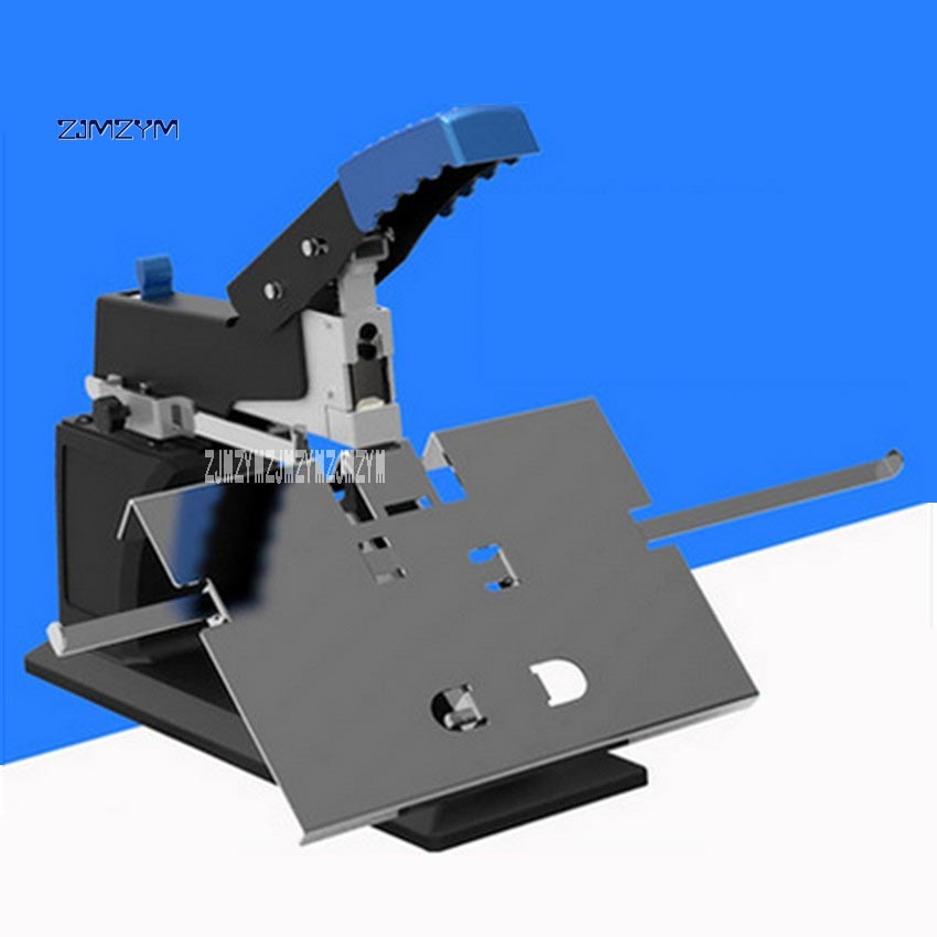 SH-03 Manual Office Supplies Bookbinding Machine a3 Saddle Stitching Stapler/ Flat Staple Binding Machine 60 Pages/80 G Hot Sale