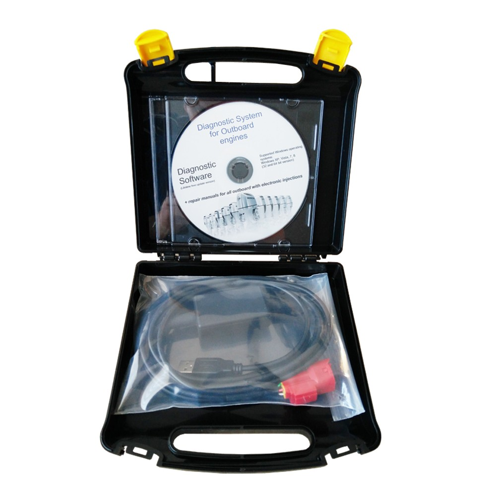 for Marine Diagnostic Kit (for Marine HDS), designed for Honda fuel injected outboard engines, lifetime FREE software updates-in Integrated Circuits from Electronic Components & Supplies