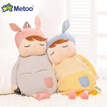 Plush Backpack Metoo Doll Cute Cartoon Girls Baby Stuffed Toy Kawaii Animal For Kid Children School Shoulder Bag In Kindergarten(China)