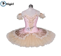 adult professional tutu pink ballet tutu for competition child platter rehearsal performance BT9034