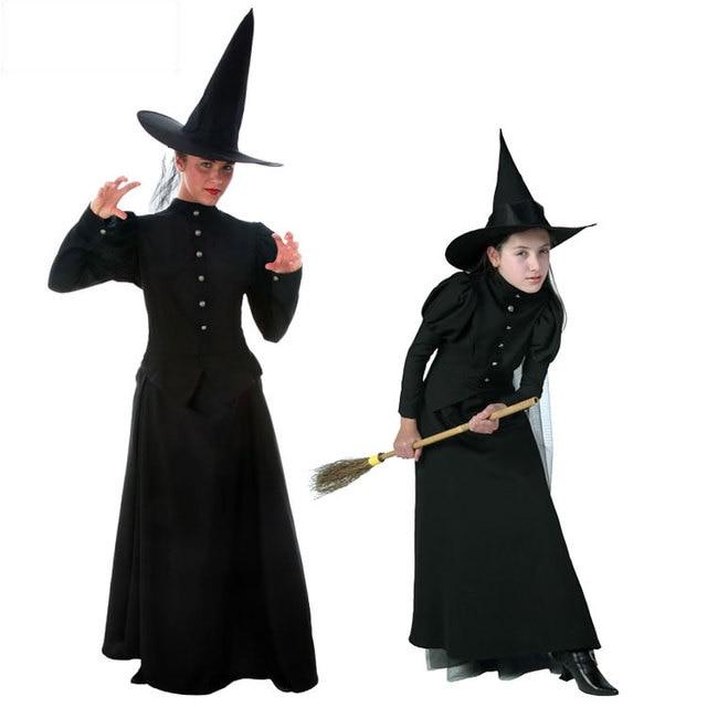 Irek Hot Cosplay Costume Wizard of Oz Halloween costume stage adult children COS black witch veil  sc 1 st  AliExpress.com & Irek Hot Cosplay Costume Wizard of Oz Halloween costume stage adult ...
