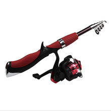 Rod Combo Set 1.4 M HighQuality New Spinning Reel Professional Fine Fishing Ultrashort Convenient Rod Fishing Reels Combination