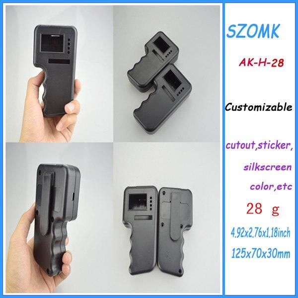 1 piece enclosures for electronics handheld 125*70*30 mm 4.92*2.76*1.18inch plastic handheld enclosure