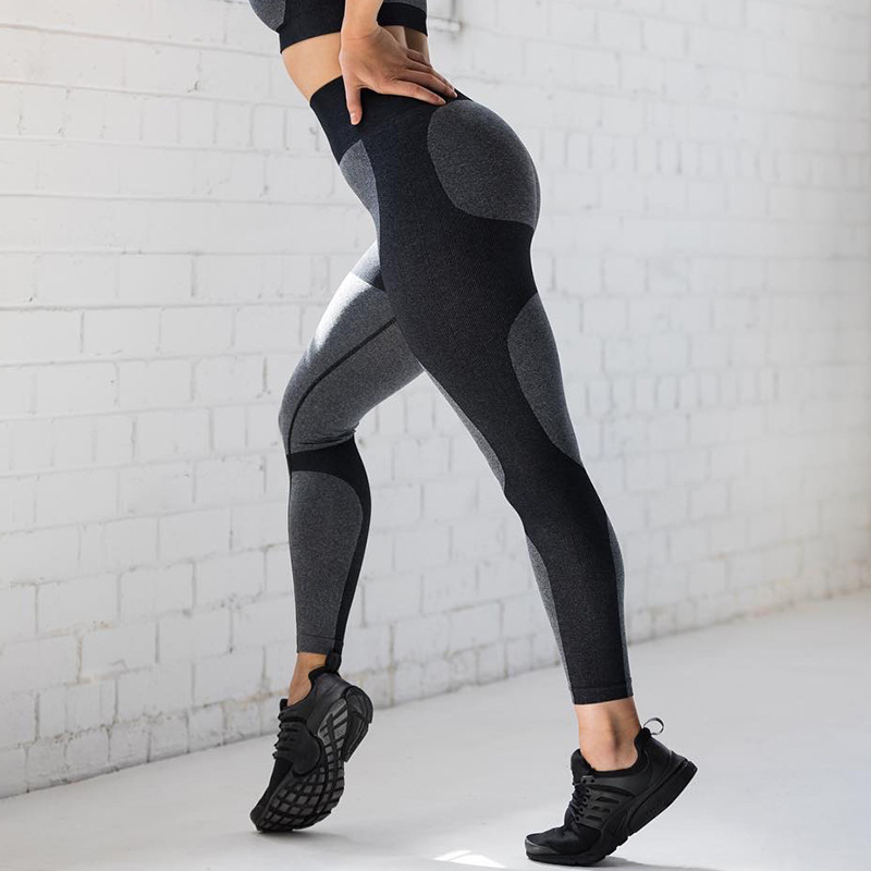 Women High Waist Patch up Gym Leggings