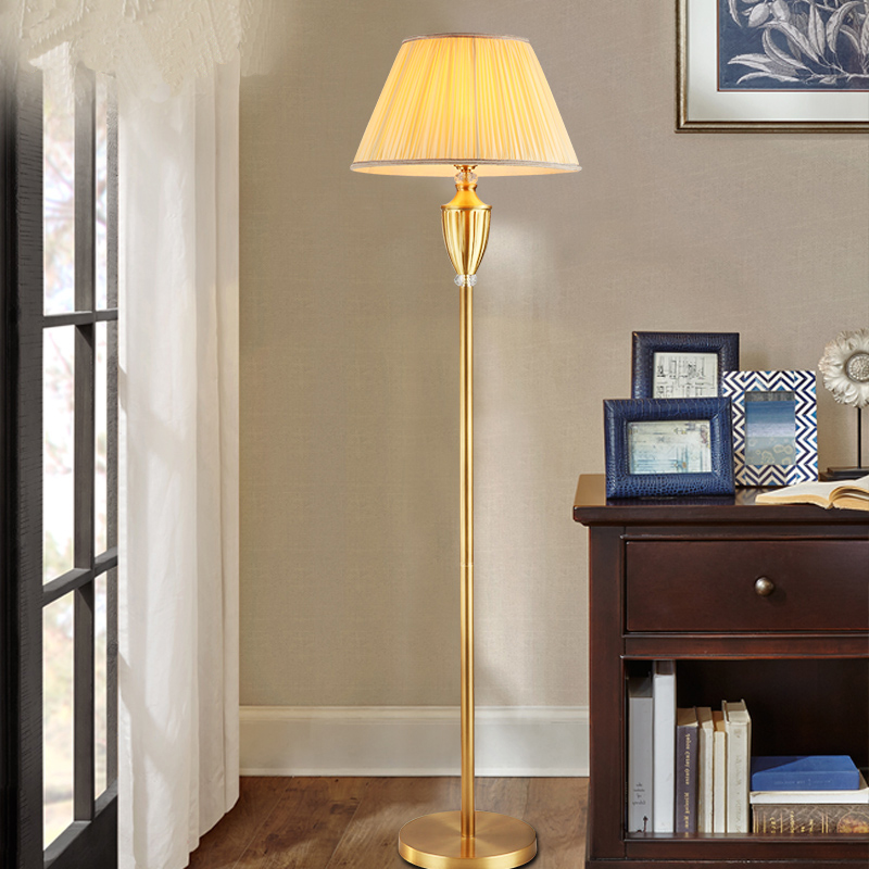 Led Full Copper Lamps American Past
