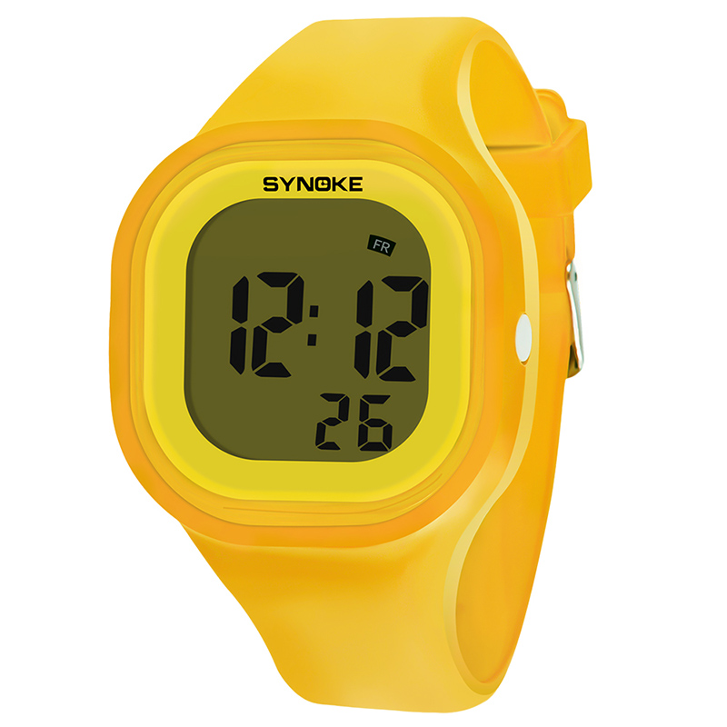 Children Waterproof Digital Luminous Watch Student Sports Digital Electronic Wrist Watch LL@17