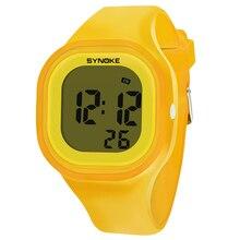 Children Waterproof Digital Luminous Watch Student Sports Di