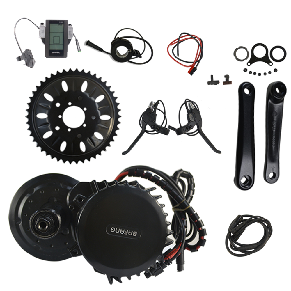 Bafang BBSHD BBS03 48V 1000W width 120mm 8fun Mid Drive Crank Motor Ebike Kit Electric Bicycle Conversion Kit free shipping electric bicycle 48v 1000w 8fun bafang bbs03 bbshd mid drive motor kit 68mm 100mm 120mm with c965 lcd display