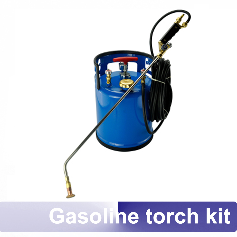 Gasoline Torch Kit Non Pressure Welding Cutting Machine For Stone Baked Surface Cut Metal Deburring Glass