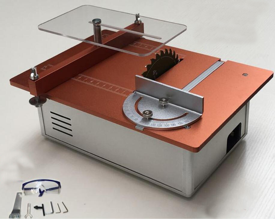 Aluminum Micro Table Saw DIY Mini Cutter Acrylic Wood PCB ...