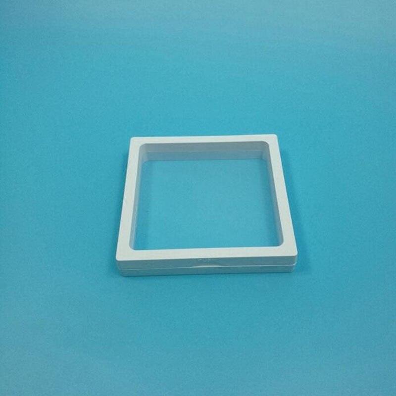 Ev ve Bahçe'ten Saklama Kutuları ve Kovaları'de 100 adet/grup 11x11x2 cm Mücevher Kutusu Aksesuarları Pencere Çerçevesi 3D Ekran Kutusu Bilezik Kolye Standı Tutucu ZA5609'da  Grup 1