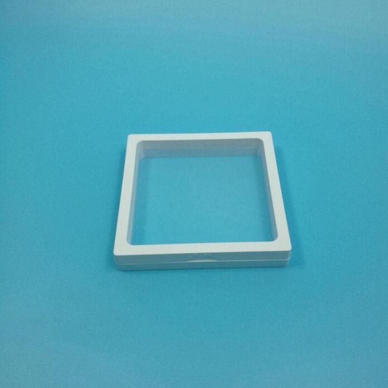 100 unids/lote 11x11x2 cm caja de joyería accesorios ventana Marco 3D caja de exhibición pulsera collar soporte ZA5609-in Cajas y recipientes de almacenamiento from Hogar y Mascotas    1