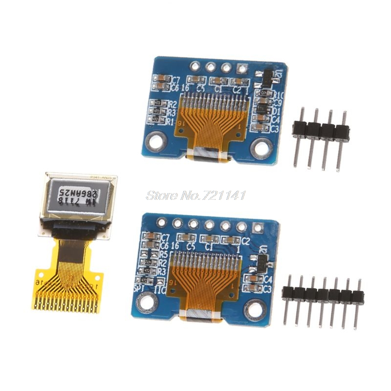 Highlight 0.42 Inch OLED Display Screen LCD Module 72*40 OLED Module IIC/SPI Interface 16Pin SSD1306