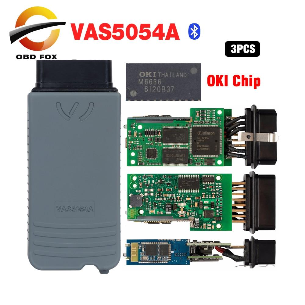vas5054a uds OKI Multi language vas5054 ODIS V4 3 3 obd2 code reader scanner vas 5054