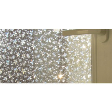 CottonColors Window Cover Films , No-Glue 3D Static Flower Decorative - Home Decor - Photo 5