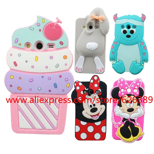 aliexpress com buy 3d cupcakes ice cream minnie mouse bunny sulley