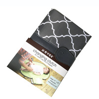Foldable Infant Baby Waterproof Changing Mat Portable Mattress Nappy Napkins Changing Pad
