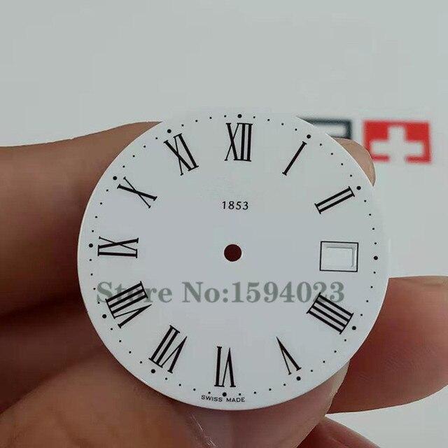 29.5 mm dial for T870 / 970 men's quartz watch text watch accessories for T52 repair parts   Fotoflaco.net