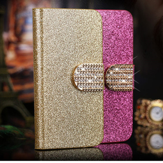Portofel de lux Husa pentru piele pentru Samsung Galaxy Grand Prime - Accesorii și piese pentru telefoane mobile