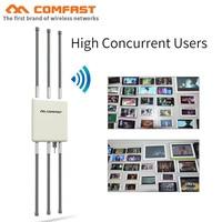 COMFAST 1750 Мбит/с Беспроводной наружных AP маршрутизаторы 5 ГГц Dual Band CPE Wi Fi Extender 360 градусов покрытия Wi Fi Base Station С 6 антенны