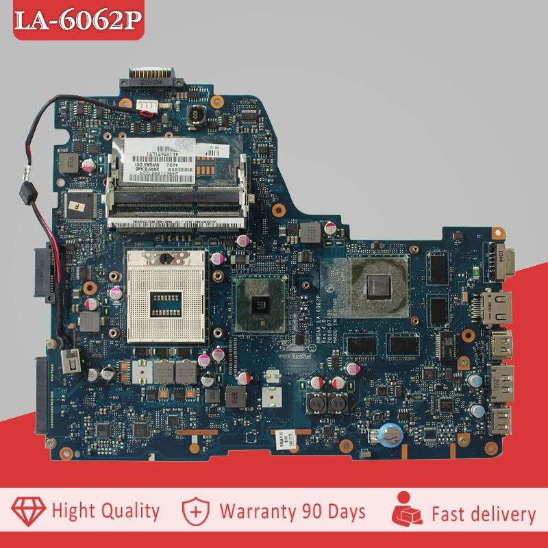 YTAI LA-6062P REV:4.0 mainboard for Toshiba Satellite A660 A665 laptop Motherboard LA-6062P REV:4.0 HM55 mainboard fully test h000023260 laptop motherboard for toshiba satellite u500 intel hm55 pn 08n1 0ck4q00 rev 2 1 with graphics slot mainboard