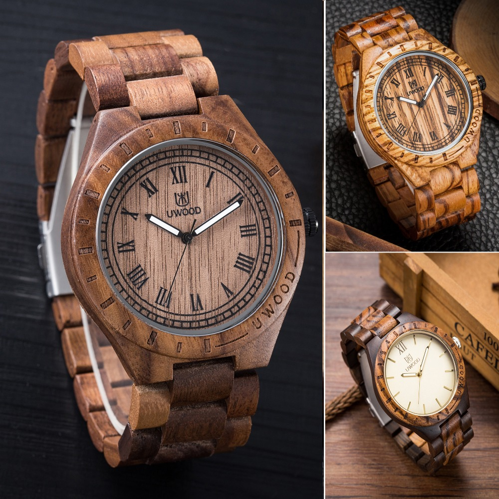 Natural Watch Men/Women Made from Real Wood Watch With Wooden Band Lovers Luxury wood Customed Watch As Christmas Gifts maange dropship leather cosmetic case portable storage makeup bags organizer brush holder cup pu material anne