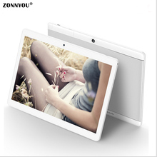 10.1 inch 3G 4G Octa Core Tablet PC 4 GB di Ram; 32 GB Rom Phone Call card Android 6.0 WiFi GPS Tablet pcs 1920×1200 Tablets Ult