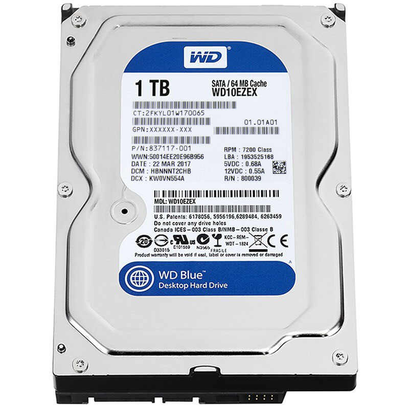 HUANAN ZHI X79 mainboard CPU Xeon E5 2680 V2 con 6 heatpipes raffreddamento RAM 16G (2*8 g) DDR3 RECC 1TB 3.5 'SATA HDD GTX750Ti 2GD5 VC