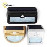 TSLEEN 2Pcs LED Solar Light 24 37 46 LED Outdoor Wireless Solar Motion Sensor Security Lamp