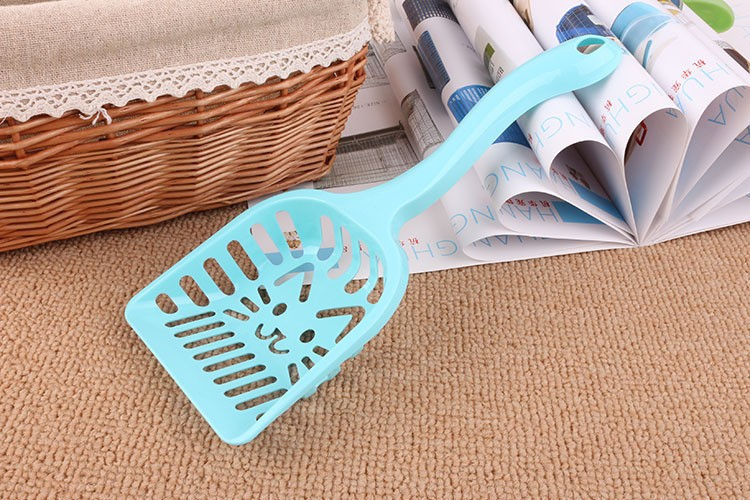 New Pet Products Shovel Cat Litter Plastic Scoop Cat Sand Cleaning Dog Food Spoons Cat sand shovel Pet Supplies PH45 (1)