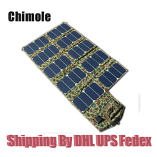 60w 21v/5v Folding Portable Solar Charger 64W Dual Output Ports Solar Panel Laptop Charger Solar Tablet Charger Phone Charger