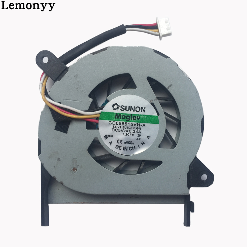 Laptop CPU Cooler Fan For ACER aspire One 1410 1410T 1820P 1810TZ 752 1420P ZH7 AB6305HX-RBB Cooling laptop cpu cooling cooler fan for acer aspire 5210 5220 5420 5420g 5930 5930g tm5520 tm5530 tm5710 5100 5520g series 3pin new